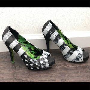Rockstar platform heels